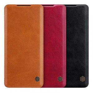 NILLKIN Classic Qin Series Flip Leather Protective Case For HUAWEI Mate 40
