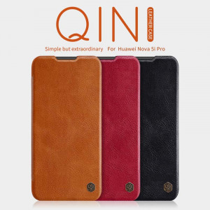 NILLKIN Classic Qin Series Flip Leather Protective Case For HUAWEI Nova 5i Pro