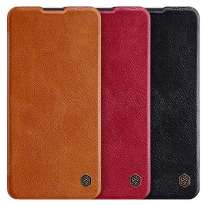 NILLKIN Classic Qin Series Flip Leather Protective Case For HUAWEI P40