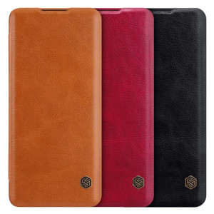 NILLKIN Classic Qin Series Flip Leather Protective Case For HUAWEI P40 Pro