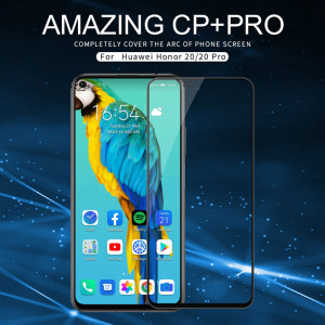 NILLKIN CP+PRO Complete Covering Tempered Glass Screen Protector For HUAWEI Honor 20/Honor 20 Pro
