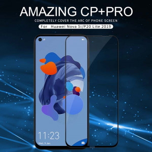 NILLKIN CP+PRO Complete Covering Tempered Glass Screen Protector For HUAWEI Nova 5i/P20 Lite (2019)