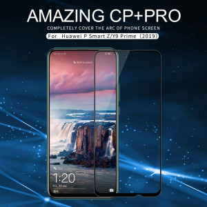 NILLKIN CP+PRO Complete Covering Tempered Glass Screen Protector For HUAWEI P Smart Z/Y9 Prime (2019)