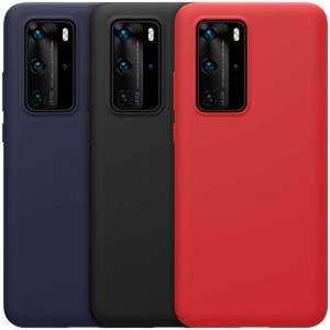 NILLKIN Flex Pure Liquid Silicone Protective Case For HUAWEI P40 Pro