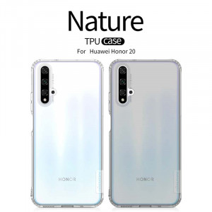 NILLKIN Nature Ultra Thin Soft TPU Protective Case For HUAWEI Honor 20
