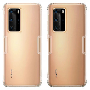 NILLKIN Nature Ultra Thin Soft TPU Protective Case For HUAWEI P40 Pro