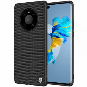 NILLKIN Nylon Fiber Textured Soft TPU Frame Hard PC Back Case For HUAWEI Mate 40 Pro