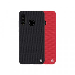 NILLKIN Nylon Fiber Textured With Soft TPU Frame Hard PC Back Case For HUAWEI P30 Lite/Nova 4e
