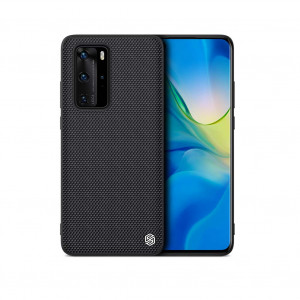 NILLKIN Nylon Fiber Textured With Soft TPU Frame Hard PC Back Case For HUAWEI P40 Pro