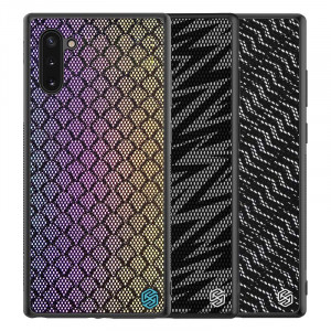 NILLKIN PU Leather PC Back Shell TPU Frame Twinkle Case For HUAWEI Mate 30