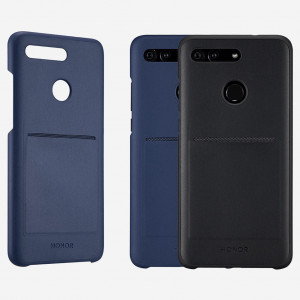 Original Huawei Honor V20 PC+PU Back Cover Case