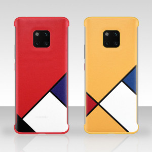 Original Huawei Mate 20 Pro Abstract Theme Contrasting PC Back Cover Case