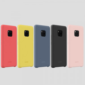 Original Huawei Mate 20 Pro Skin Touch Silicone Protective Case