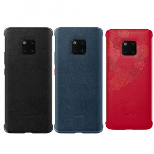 Original Huawei Mate 20 Pro Ultra Thin PU Leather Protective Back Cover Case