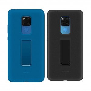 Original Huawei Mate 20 X Silicone Back Cover Case With Convenient Holder