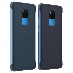 Original Huawei Mate 20 X Ultra Thin PU Leather Protective Back Cover Case
