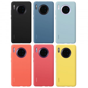 Original HUAWEI Mate 30 Liquid Silicone Skin-friendly Back Cover Case