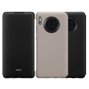 Original HUAWEI Mate 30 Wallet Style Smart Flip Protective Cover Case