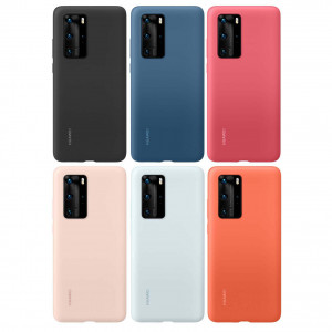 Original HUAWEI P40 Pro Skin-Friendly Liquid Silicone Rubber Protective Case