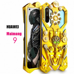 Simon Gothic Steampunk Mechanical Gear Metal Protective Case For HUAWEI Maimang 9