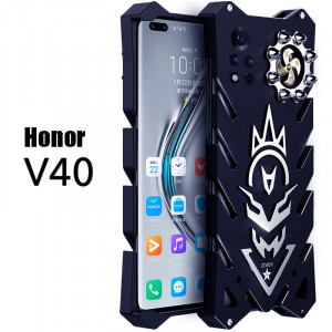 SIMON New Cool Aluminum Metal Frame Bumper Protective Case For Honor V40