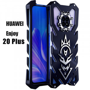 SIMON New Cool Aluminum Metal Frame Bumper Protective Case For HUAWEI Enjoy 20 Plus