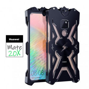 SIMON THOR Aluminum Metal Frame Bumper Protective Case For Huawei Mate 20/20X/20 Pro