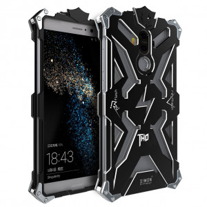SIMON THOR Aluminum Metal Frame Bumper Protective Case For Huawei Mate 9