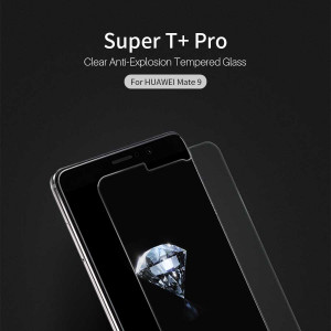 Super T+ Pro Clear Anti-Explosion Tempered Glass Screen Protector For Huawei Mate 9