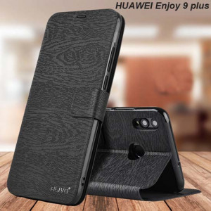 Tree Texture Wallet Style Flip PU Leather Protective Case For HUAWEI Enjoy 9 Plus/Enjoy Max/Enjoy 9/Honor 9i