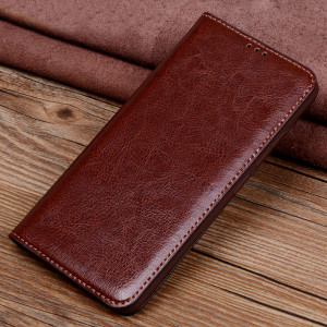 Vintage Style Genuine Leather Flip Stand Protective Case For HUAWEI Nova 4e