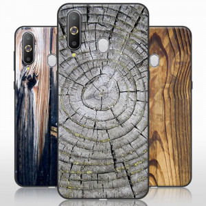 Vintage Wood Grain Series Soft Silicone Protective Case For Huawei Enjoy 9