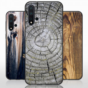 Vintage Wood Grain Series Soft Silicone Protective Case For HUAWEI Nova 5 Pro/Nova 5/Nova 5i