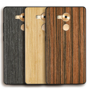 Wood Grain Series Soft TPU Ultra Thin Phone Cover Case For Huawei Mate 8