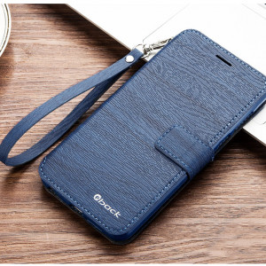 Wood Texture Wallet Style Classic Flip Leather Protective Case For Huawei Honor 10/V10