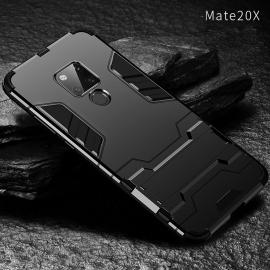 Armor Style Full Protection Simple Silicone Protective Case With Stand Function For Huawei Mate 20 Pro / Mate 20X/Mate 20