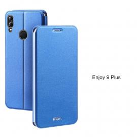 Mofi Classic Clamshell Thin Contracted PU Leather Case Flip Cover For Huawei Enjoy 9 Plus/Enjoy 8 Plus/Enjoy 8