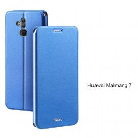 Mofi Classic Clamshell Thin Contracted PU Leather Case Flip Cover For Huawei Maimang 7