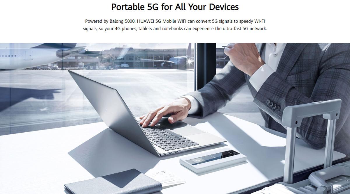 Original HUAWEI 5G Mobile WiFi