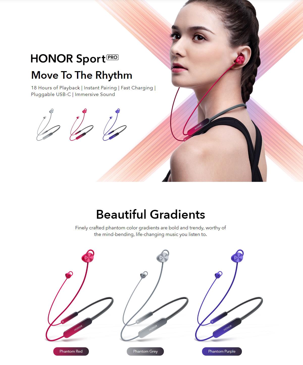 Original HUAWEI Honor xSport Pro